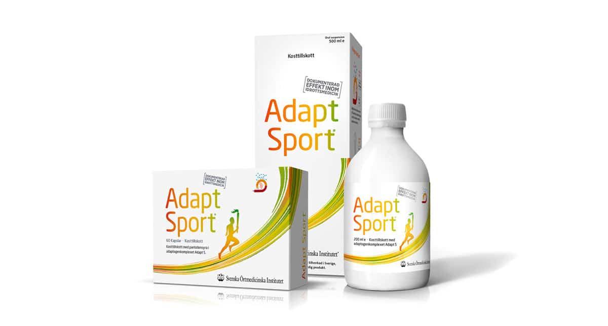 adapt sport svenska örtmedicinska