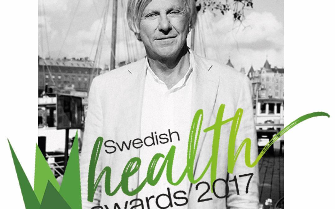 Georg Wikman nominerad till Årets hälsohjälte